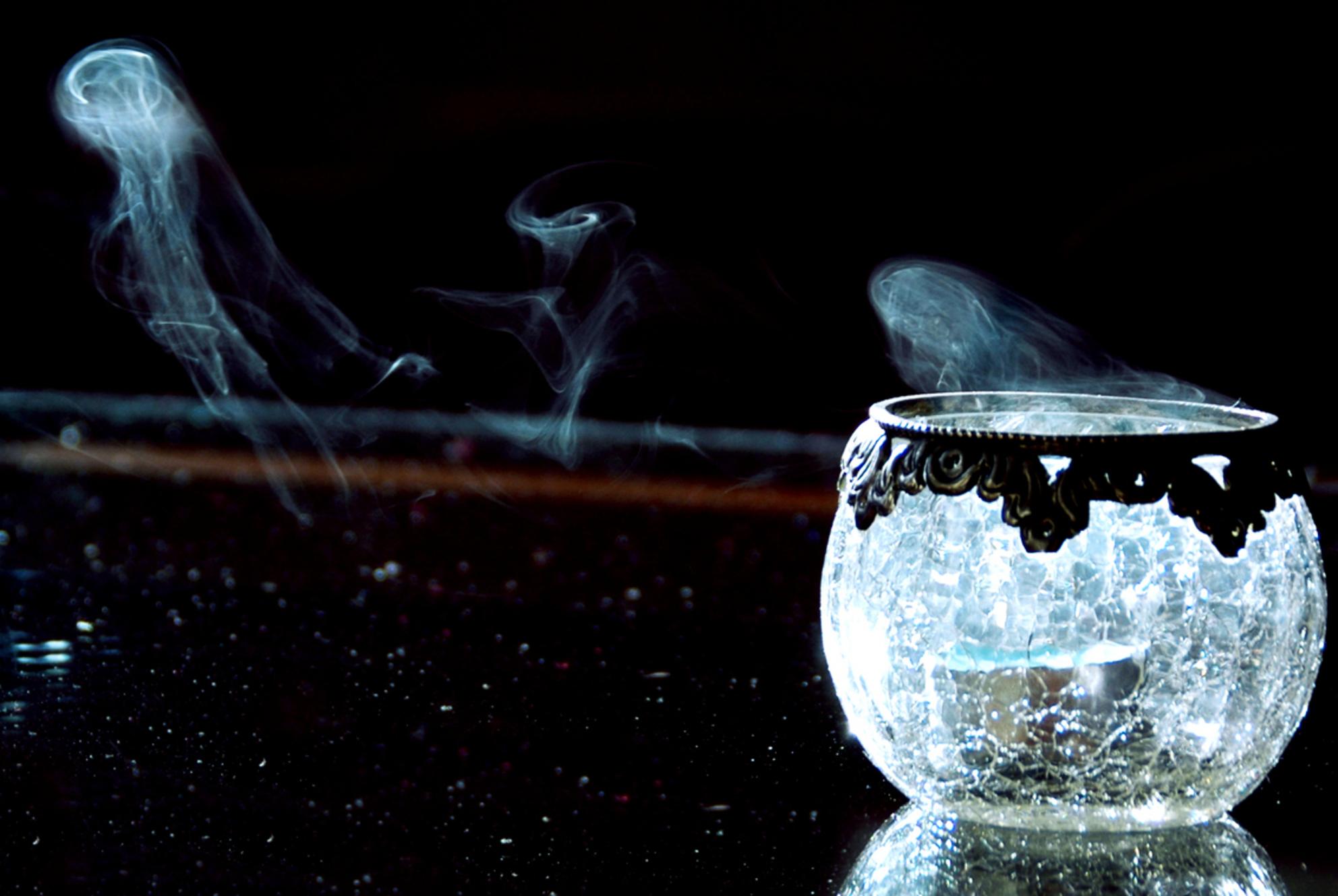 Rook - Beetje geexperimenteerd met licht-donker. Jammer dat de tafel wat stoffig is... - foto door Lailaat op 11-11-2007 - deze foto bevat: rook, biemie, nerds - Deze foto mag gebruikt worden in een Zoom.nl publicatie
