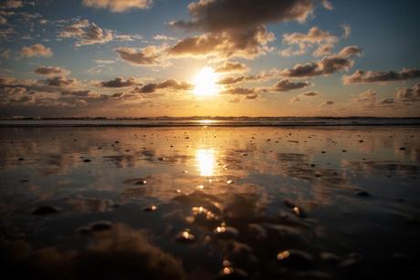 Gouden uurtje in Zandvoort