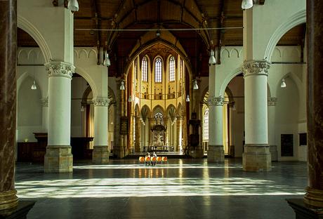 Lichtval Grote kerk