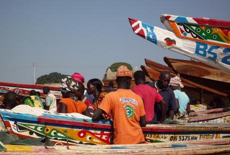 vismarkt in tanji, gambia 1