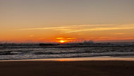 Zonsondergang 2 bij Cadiz