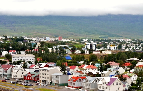 Akureyri in kleur
