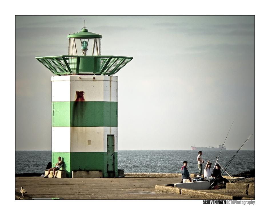 Scheveningen - Afgelopen vrijdag weer eens een dagje naar Scheveningen geweest... - foto door Octo op 02-09-2008 - deze foto bevat: scheveningen
