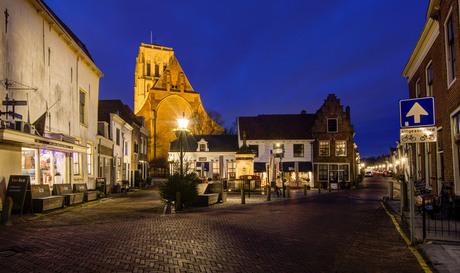 Brielle - Wellerondom - Langestraat - Sint Catharijnekerk