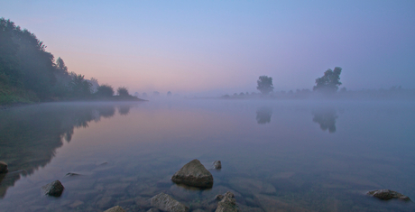 waking up at the IJssel