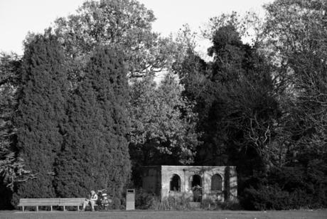 Ruine Frankendael park Amsterdam