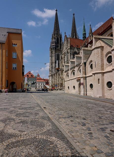 Regensburg Duitsland.