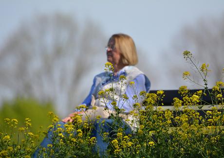 Genieten van de voorjaarszon