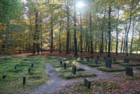 Paarden kerkhof van de Koningklijke familie