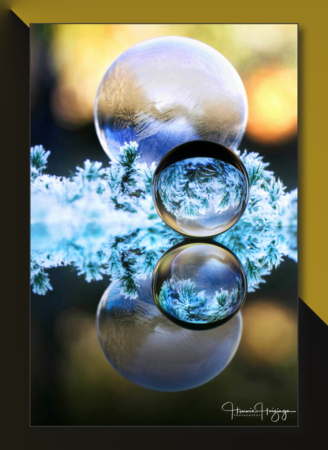 ijsbal en kristalbal