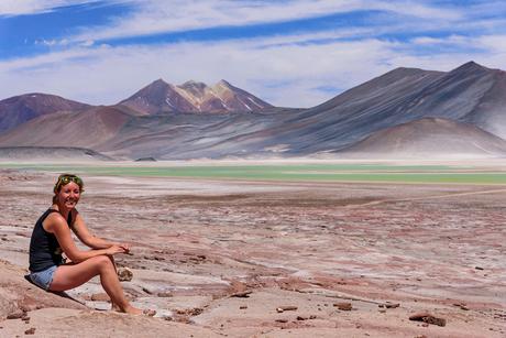 Genieten van het surrealistische landschap van de Atacama