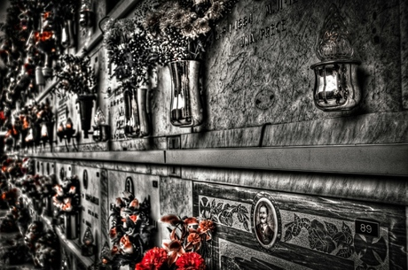 begraafplaats Italië