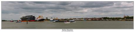 Panorama Skyline Maassluis