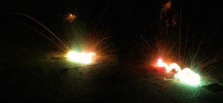Vuurwerk probeersel