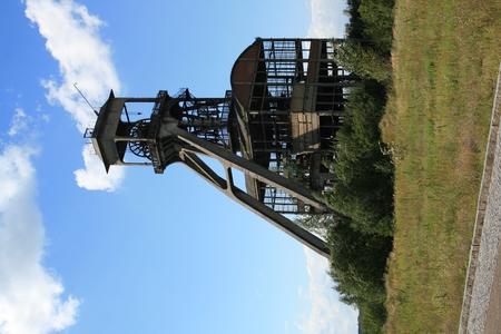 Vergane glorie - De oude mijnschacht in Maas/Mechelen - foto door Marcel1968 op 07-09-2008 - deze foto bevat: mijn, mijnschacht, schacht