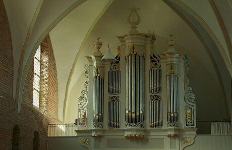 Orgel in kerkje