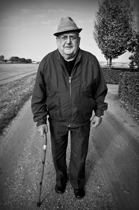 Wandeling met opa