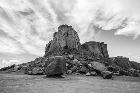 Rotsformatie Monument Valley