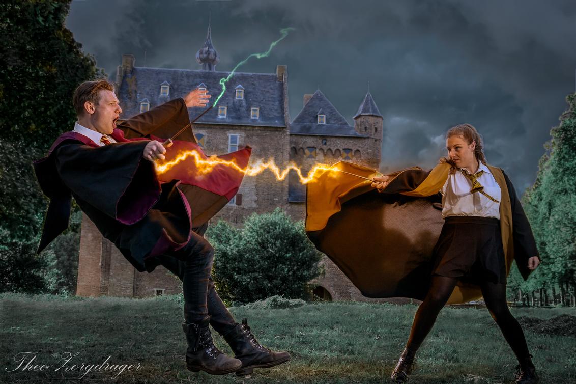 Harry potter - De magische wereld van Harry Potter. - foto door tzorgdrager op 06-03-2021 - deze foto bevat: magie, spreuk, cosplay