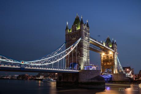 Tower bridge on blue hour