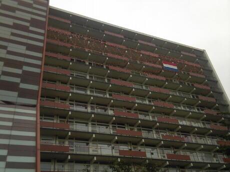 wk-koorts in Heemskerk