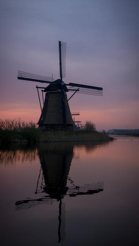 Sunrise Kinderdijk 2
