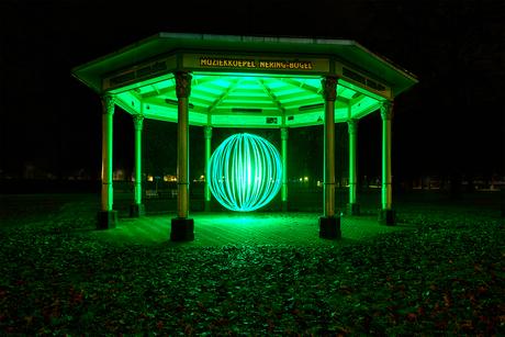 Deventer lightpaint green