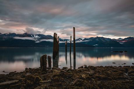 Dockside Seward Alaska