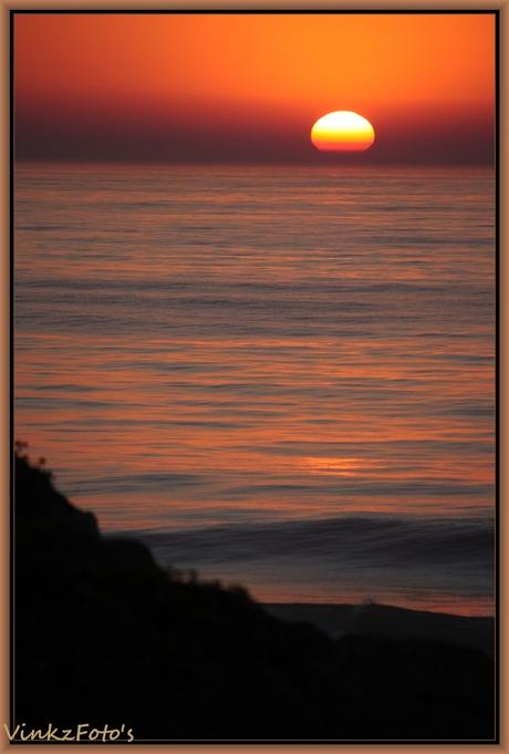 Zonsondergang Portugal