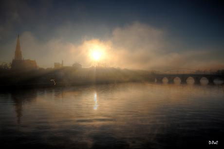 Fiery mist
