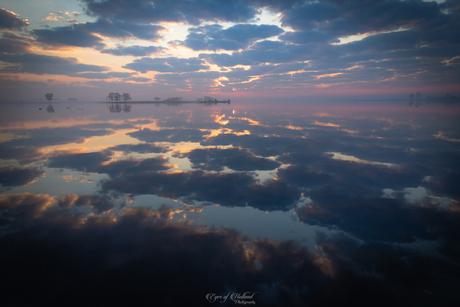 Zonsopkomst met wolken