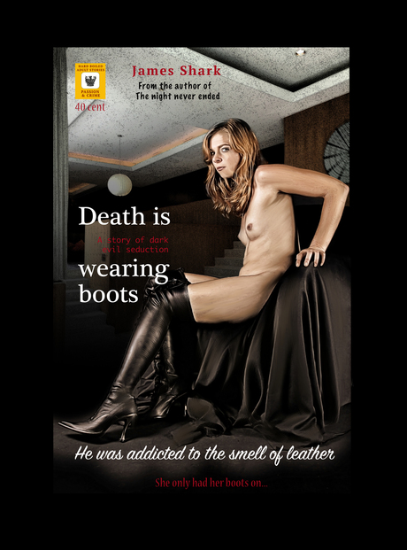 Death is wearing boots
