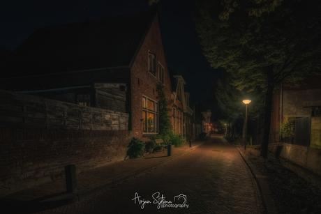 Westersingel bij nacht