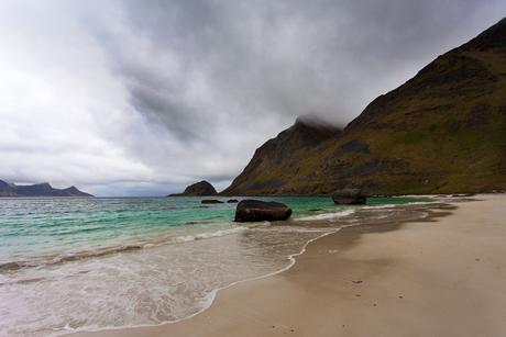 Kvalvika beach - Lofoten