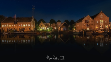 Oude sigarenfabriek en pakhuizen Dokkum II