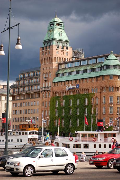 Donkere wolken in stockholm