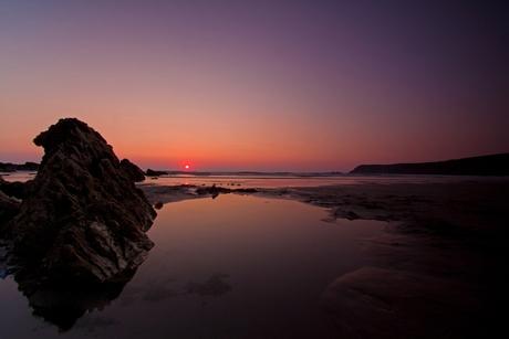 Zonsondergang in Bretagne 3