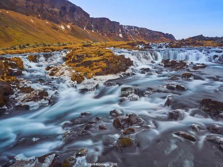 Skoga-river near the ringroad A1, Iceland