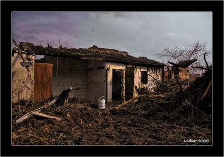 verlaten Holz