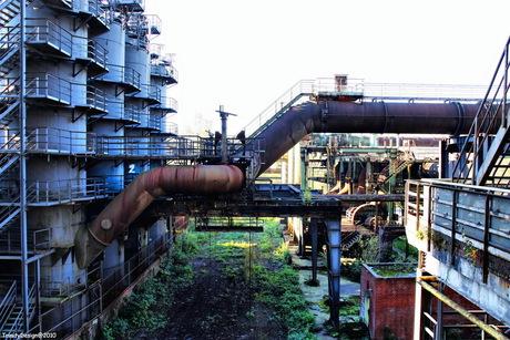 Landshaftspark Duisburg Duitsland