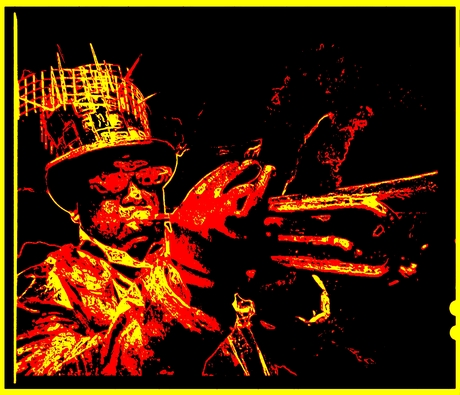 Trompet man