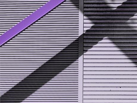 Abstract lijnenspel.