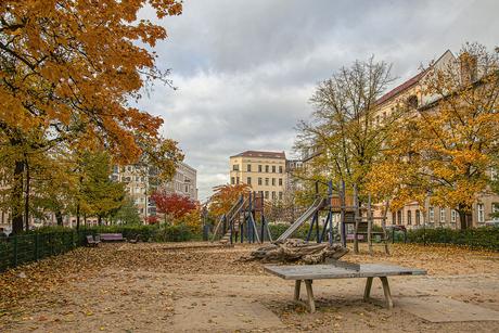 Herfst in Berlijn
