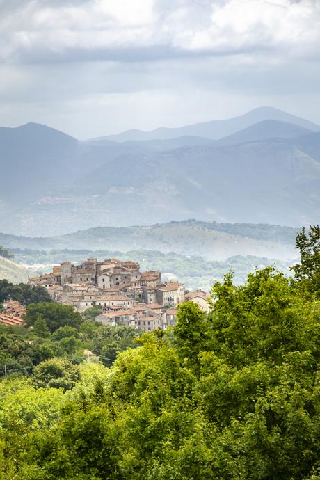 bergdorp in Lazio