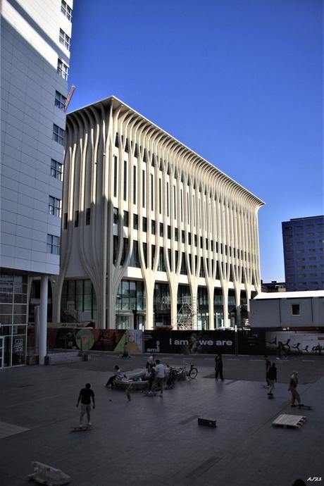 het nieuwe  Theater aan het Spui, Spui, Den Haag,