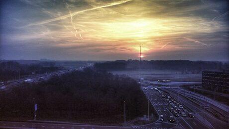 Vanochtend in Utrecht