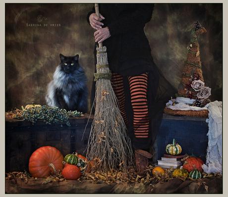 Shhh! It's nearly Halloween!