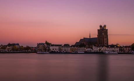 Sunset at Dordrecht