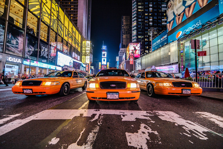 Classic Taxicabs in New York