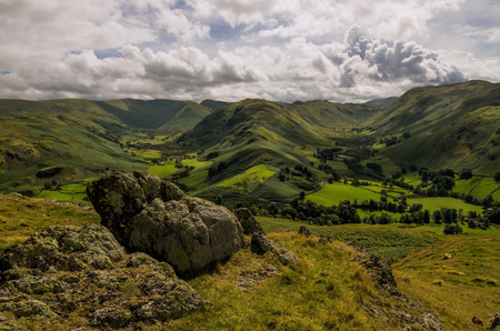 Martindale and Boredale - Martindale en Boredale valleien in The Lake District - foto door pentaxfan op 04-11-2017 - deze foto bevat: Lake District